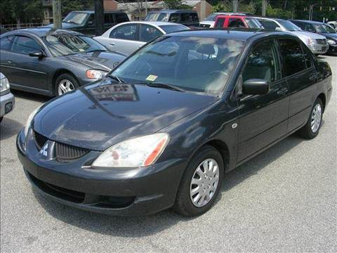 2004 Mitsubishi Lancer for sale at Deer Park Auto Sales Corp in Newport News VA