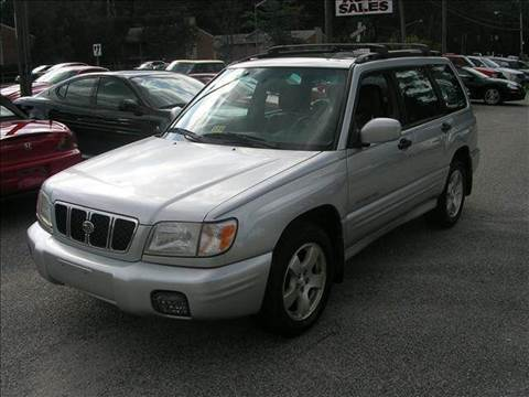 2002 Subaru Forester for sale at Deer Park Auto Sales Corp in Newport News VA