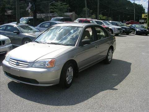 2003 Honda Civic for sale at Deer Park Auto Sales Corp in Newport News VA