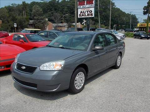 2008 Chevrolet Malibu for sale at Deer Park Auto Sales Corp in Newport News VA