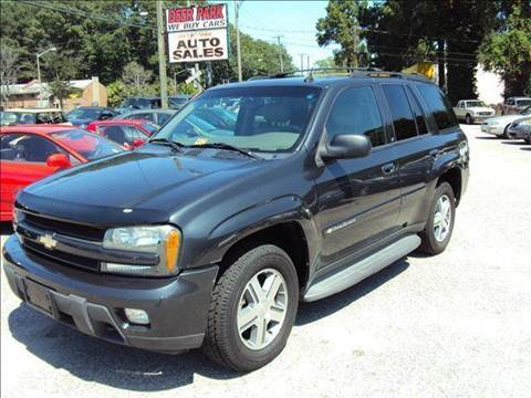 2004 Chevrolet TrailBlazer for sale at Deer Park Auto Sales Corp in Newport News VA