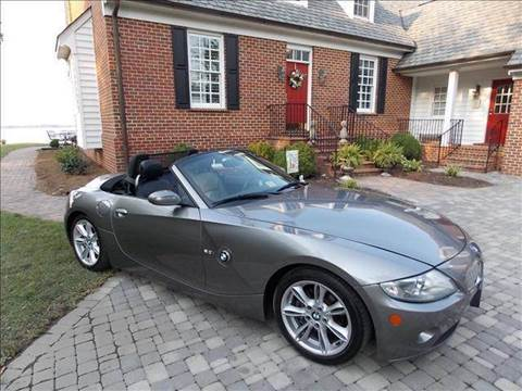 2005 BMW Z4 for sale at Deer Park Auto Sales Corp in Newport News VA