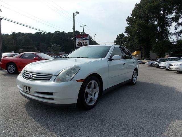 2003 Infiniti G35 for sale at Deer Park Auto Sales Corp in Newport News VA