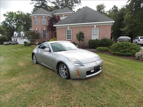 2004 Nissan 350Z for sale at Deer Park Auto Sales Corp in Newport News VA