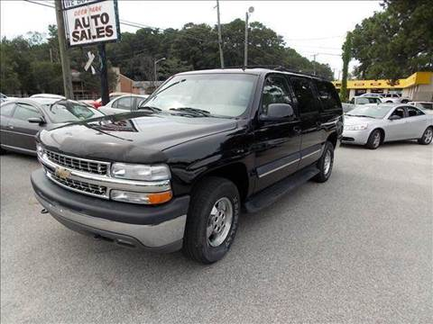 2002 Chevrolet Suburban for sale at Deer Park Auto Sales Corp in Newport News VA