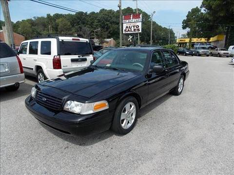 2005 Ford Crown Victoria for sale at Deer Park Auto Sales Corp in Newport News VA