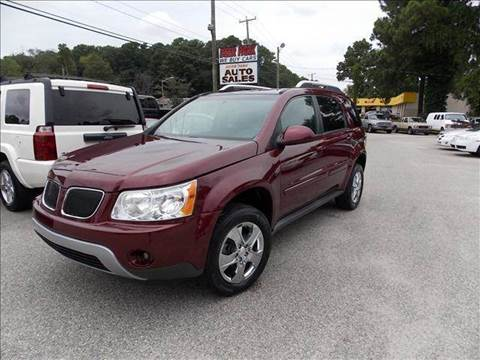 2008 Pontiac Torrent for sale at Deer Park Auto Sales Corp in Newport News VA
