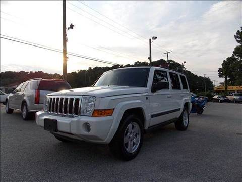 2007 Jeep Commander for sale at Deer Park Auto Sales Corp in Newport News VA