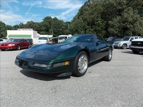 1994 Chevrolet Corvette for sale at Deer Park Auto Sales Corp in Newport News VA