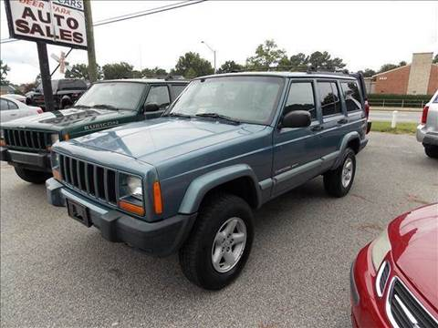 1999 Jeep Cherokee for sale at Deer Park Auto Sales Corp in Newport News VA