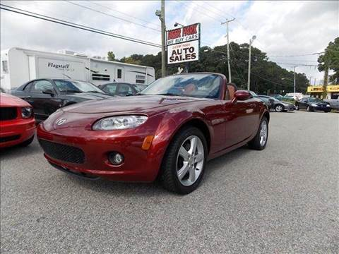2007 Mazda MX-5 Miata for sale at Deer Park Auto Sales Corp in Newport News VA