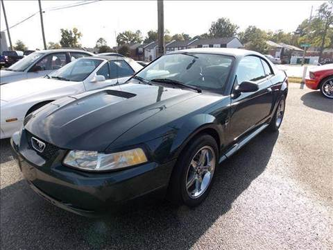 1999 Ford Mustang for sale at Deer Park Auto Sales Corp in Newport News VA