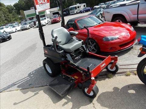 2011 Toro Zero Turn for sale at Deer Park Auto Sales Corp in Newport News VA