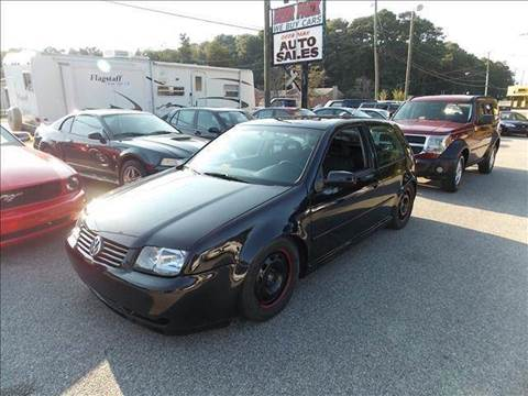 2002 Volkswagen GTI for sale at Deer Park Auto Sales Corp in Newport News VA