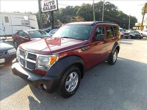 2007 Dodge Nitro for sale at Deer Park Auto Sales Corp in Newport News VA