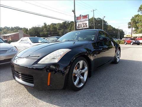 2005 Nissan 350Z for sale at Deer Park Auto Sales Corp in Newport News VA