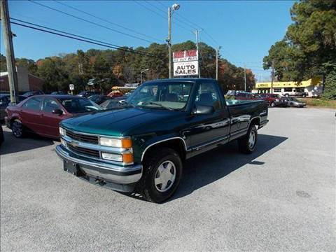 1996 Chevrolet C/K 1500 Series for sale at Deer Park Auto Sales Corp in Newport News VA