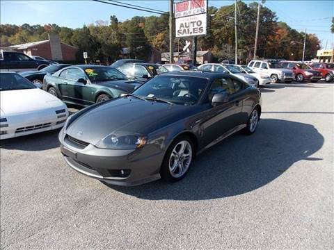 2006 Hyundai Tiburon for sale at Deer Park Auto Sales Corp in Newport News VA