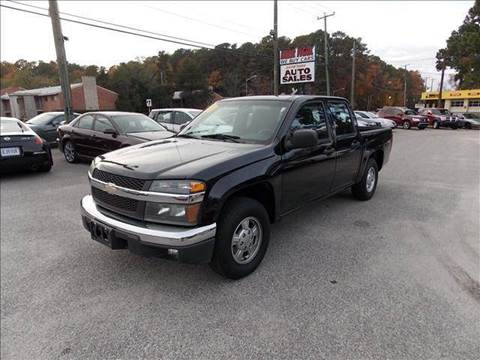 2007 Chevrolet Colorado for sale at Deer Park Auto Sales Corp in Newport News VA