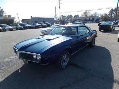1968 Pontiac Firebird for sale at Deer Park Auto Sales Corp in Newport News VA
