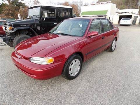 2001 Chevrolet Prizm for sale at Deer Park Auto Sales Corp in Newport News VA