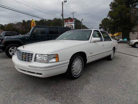 1998 Cadillac DeVille for sale at Deer Park Auto Sales Corp in Newport News VA