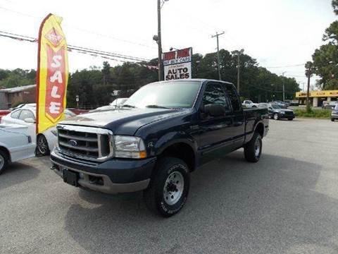 2002 Ford F-250 Super Duty for sale at Deer Park Auto Sales Corp in Newport News VA