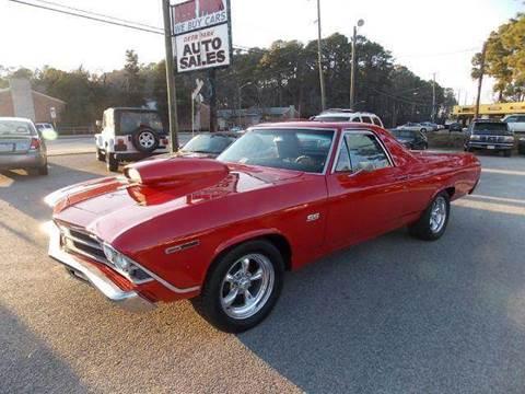 1969 Chevrolet El Camino for sale at Deer Park Auto Sales Corp in Newport News VA