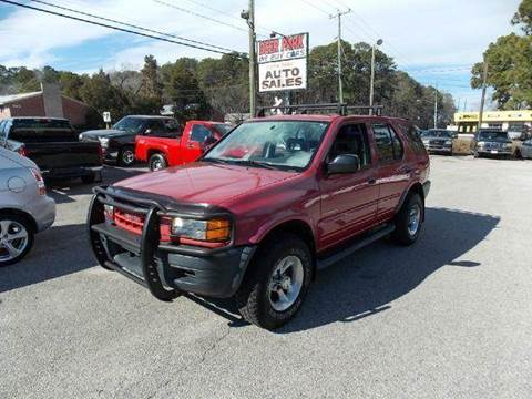 1999 Isuzu Rodeo for sale at Deer Park Auto Sales Corp in Newport News VA