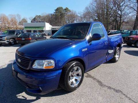 2004 Ford F-150 SVT Lightning for sale at Deer Park Auto Sales Corp in Newport News VA