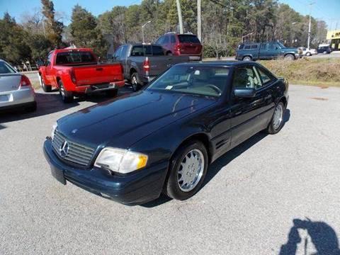 1997 Mercedes-Benz SL-Class for sale at Deer Park Auto Sales Corp in Newport News VA