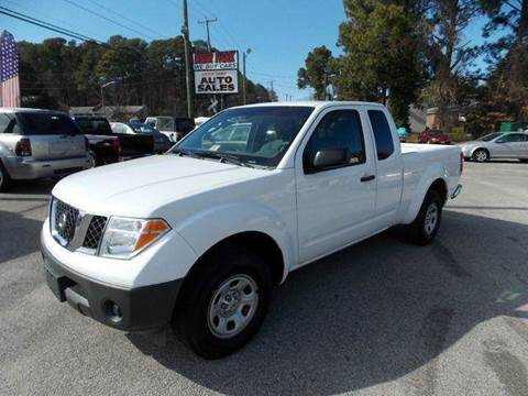 2007 Nissan Frontier for sale at Deer Park Auto Sales Corp in Newport News VA