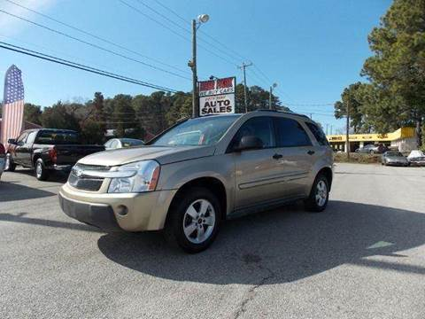 2005 Chevrolet Equinox for sale at Deer Park Auto Sales Corp in Newport News VA