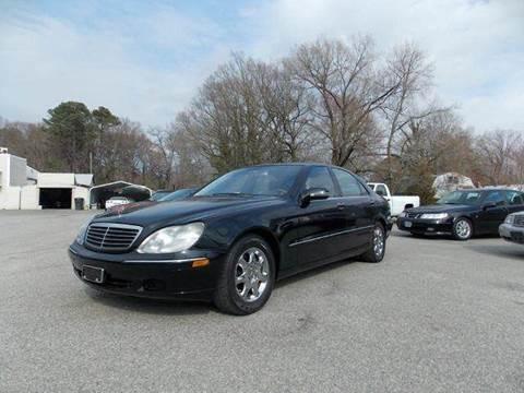 2001 Mercedes-Benz S-Class for sale at Deer Park Auto Sales Corp in Newport News VA