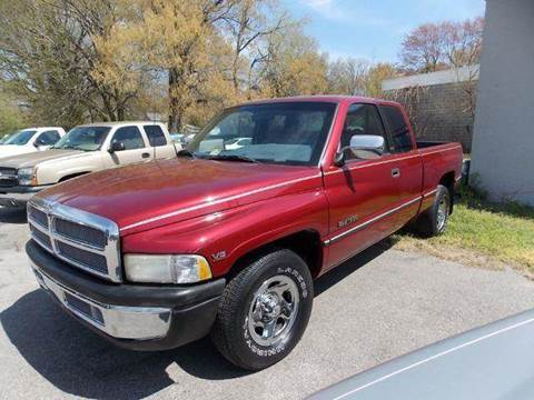 1996 Dodge Ram Pickup 1500 for sale at Deer Park Auto Sales Corp in Newport News VA