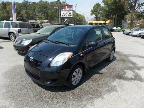 2008 Toyota Yaris for sale at Deer Park Auto Sales Corp in Newport News VA
