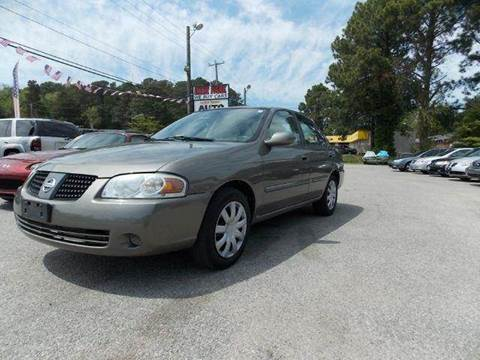 2005 Nissan Sentra for sale at Deer Park Auto Sales Corp in Newport News VA