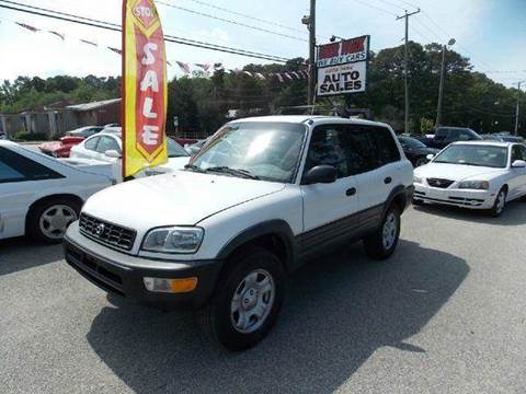 1998 Toyota RAV4 for sale at Deer Park Auto Sales Corp in Newport News VA