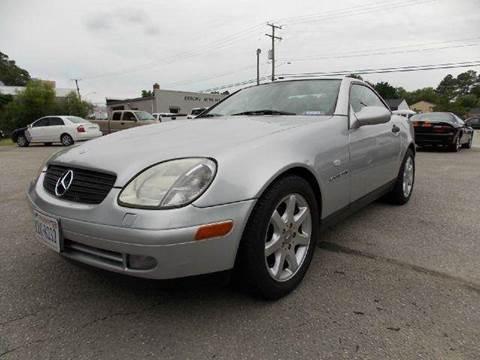 1998 Mercedes-Benz SLK-Class for sale at Deer Park Auto Sales Corp in Newport News VA
