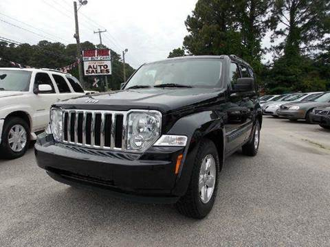 2009 Jeep Liberty for sale at Deer Park Auto Sales Corp in Newport News VA