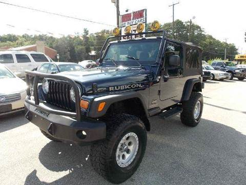2004 Jeep Wrangler for sale at Deer Park Auto Sales Corp in Newport News VA