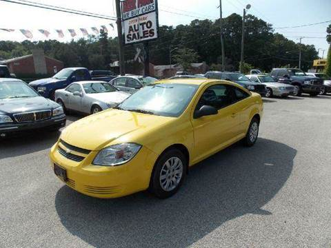2009 Chevrolet Cobalt for sale at Deer Park Auto Sales Corp in Newport News VA