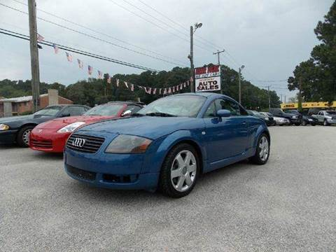 2001 Audi TT for sale at Deer Park Auto Sales Corp in Newport News VA