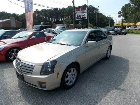 2007 Cadillac CTS for sale at Deer Park Auto Sales Corp in Newport News VA