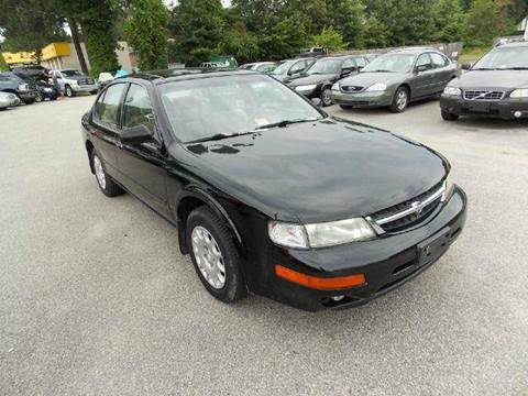 1997 Nissan Maxima for sale at Deer Park Auto Sales Corp in Newport News VA