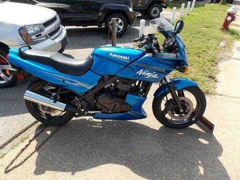 2009 Kawasaki Ninja 500R for sale at Deer Park Auto Sales Corp in Newport News VA
