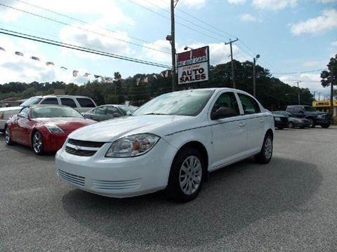 2010 Chevrolet Cobalt for sale at Deer Park Auto Sales Corp in Newport News VA
