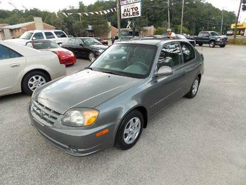 2004 Hyundai Accent for sale at Deer Park Auto Sales Corp in Newport News VA