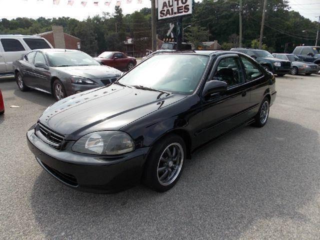 1998 Honda Civic HX 2dr Coupe   Newport News VA