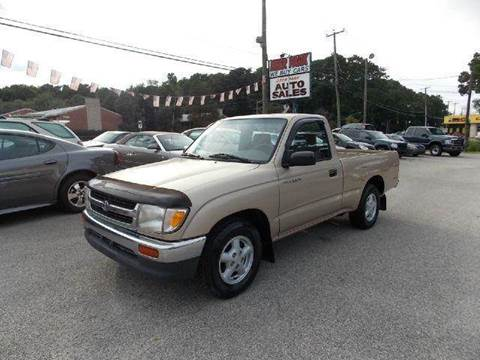 1997 Toyota Tacoma for sale at Deer Park Auto Sales Corp in Newport News VA